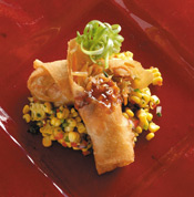 Ralph Brennan's Jazz Kitchen Crawfish Spring Rolls