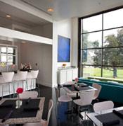 Cafe NOMA Interior Photo Facing Park