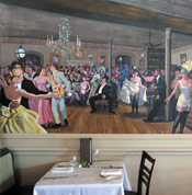 Ralph's  on the Park Mural Painting Inside