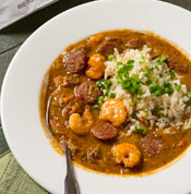 Red Fish Grill Gumbo