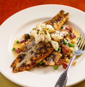 Red Fish Grill Hickory Grilled Redfish