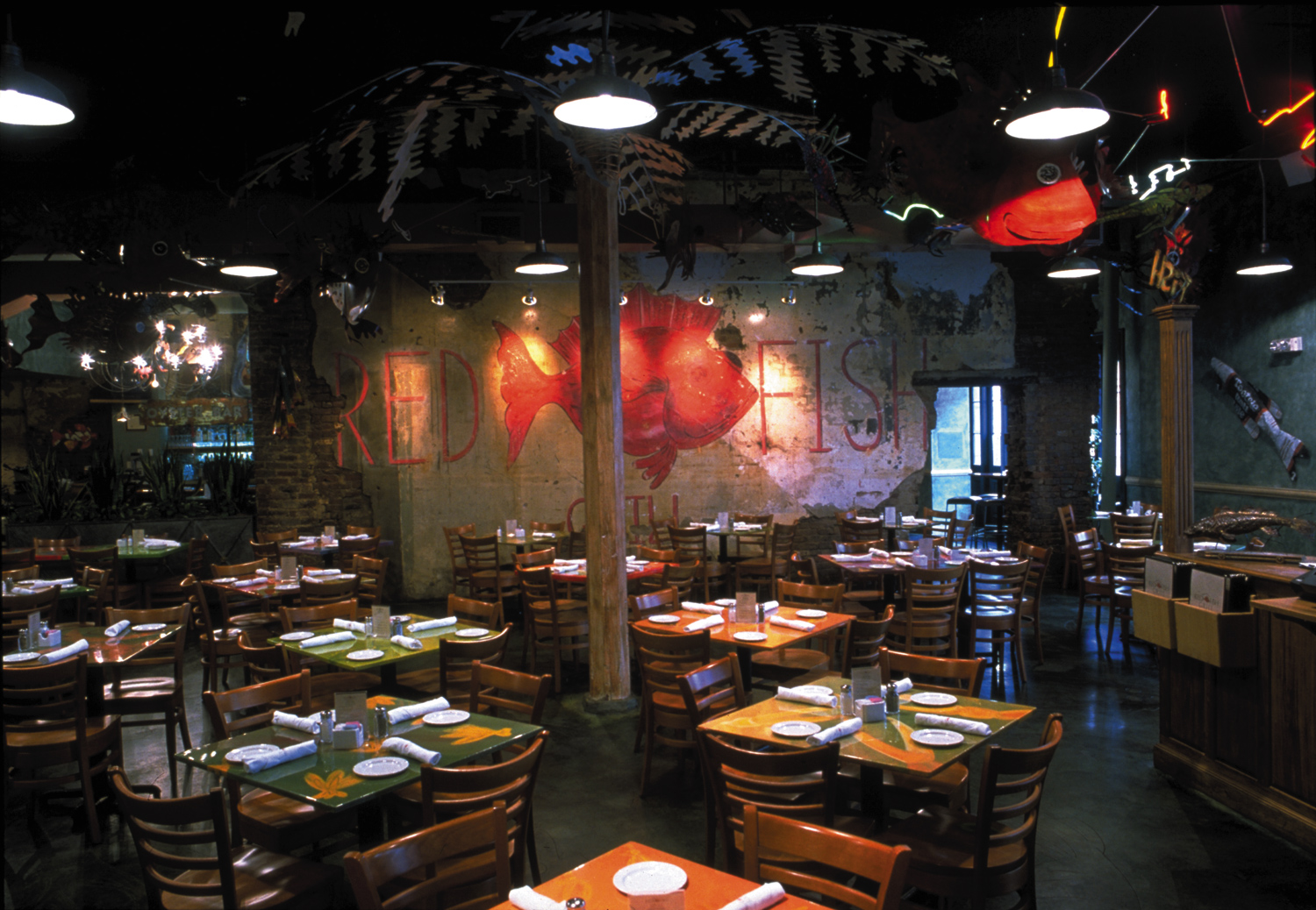 new orleans restaurant photos red fish grill media resources