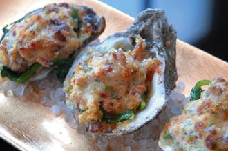 Baked Oysters Ralph