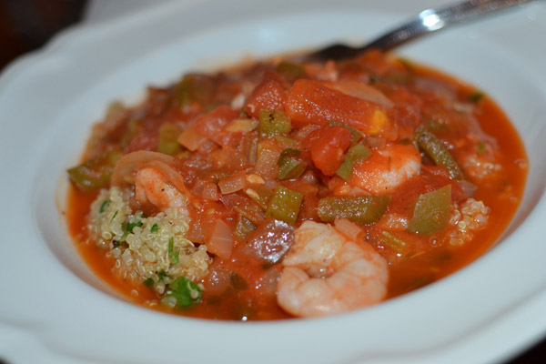 Creole Sauce at Red Fish Grill