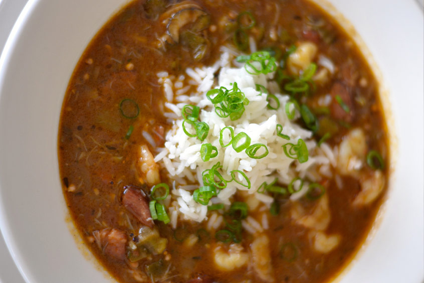 Recipe Image for Seafood Filé Gumbo