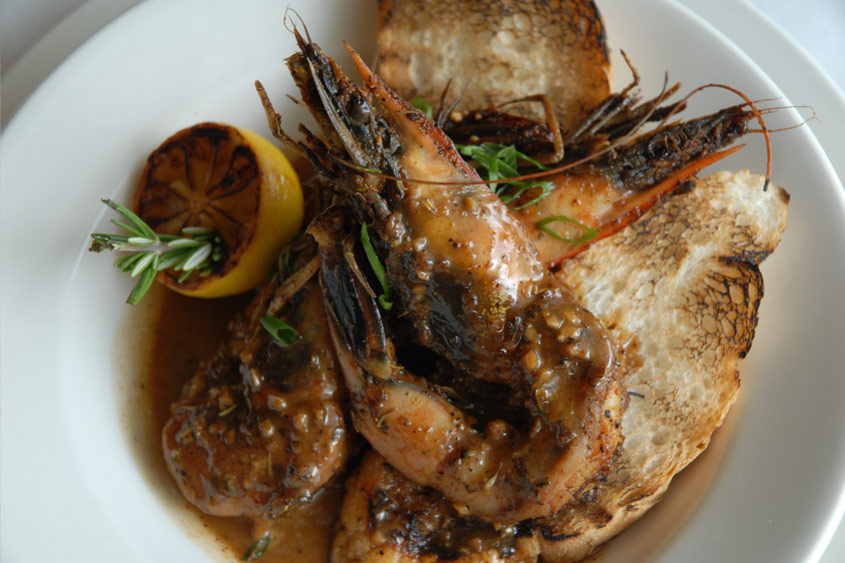 BBQ Shrimp at Red Fish Grill
