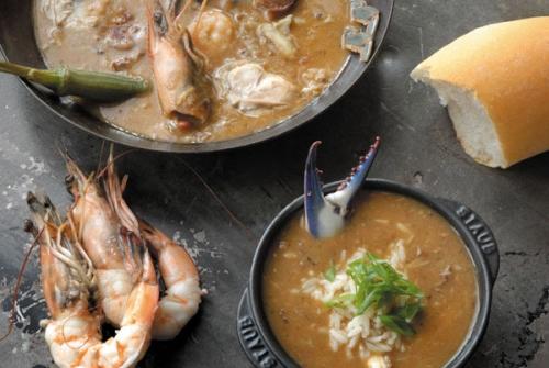 Alligator Sausage & Seafood Gumbo