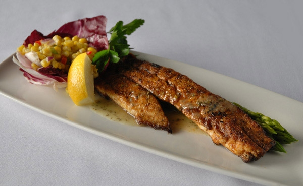 New orleans recipes grilled redfish with crawfish corn for Red fish taste