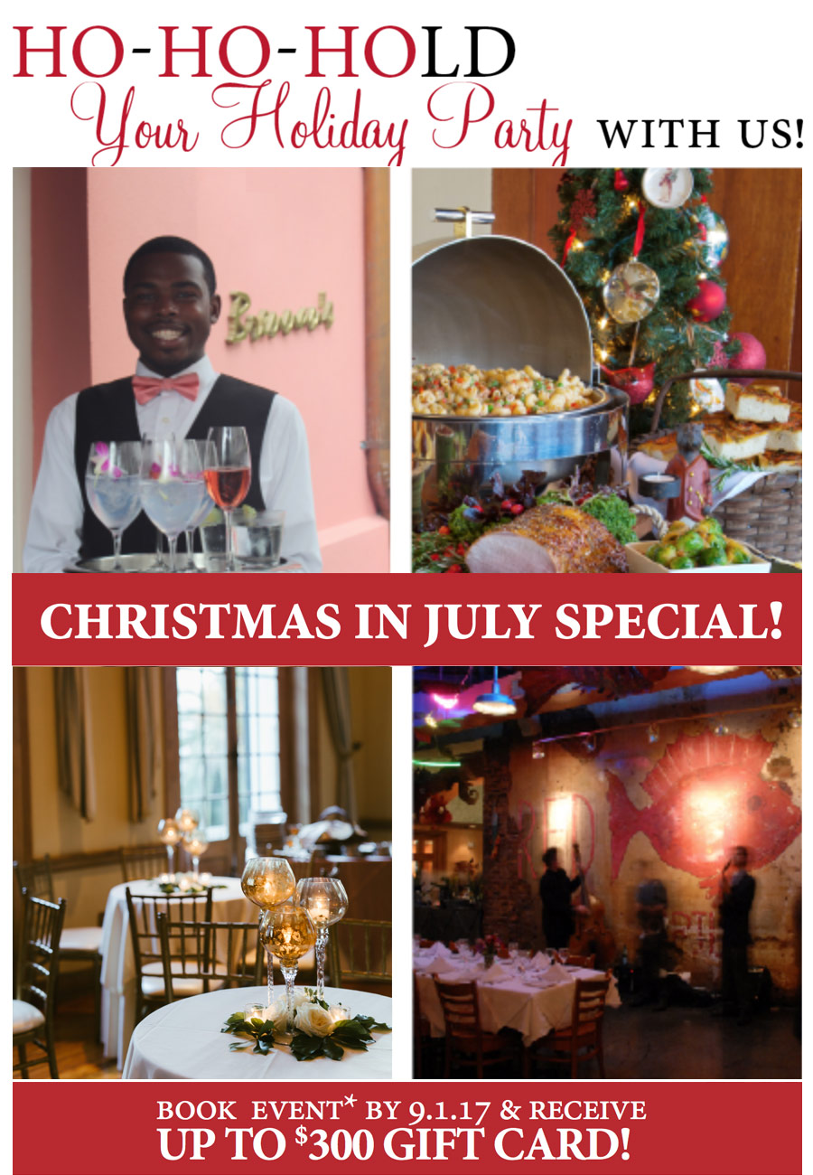 Christmas In July Party Food.Christmas In July Special Ralph Brennan Restaurant Group