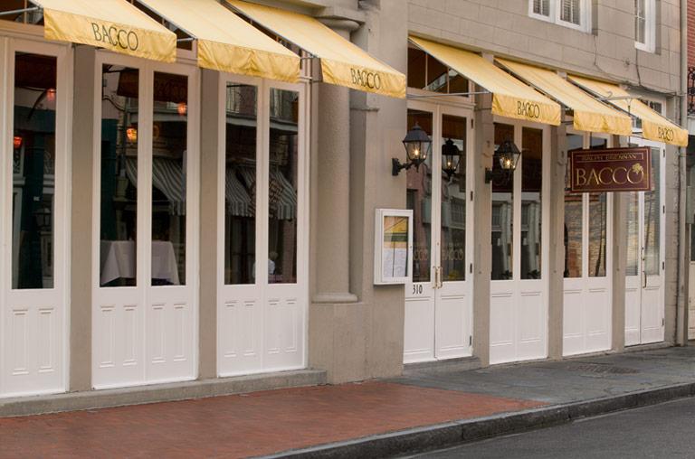 BACCO Restaurant exterior view