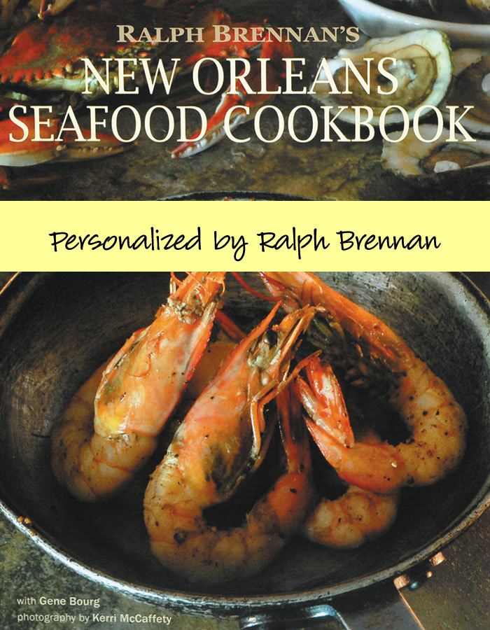 Ralph Brennan's New Orleans Seafood Cookbook Signed image 1